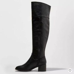 UNIVERSAL THREAD black over the knee boots 9.5
